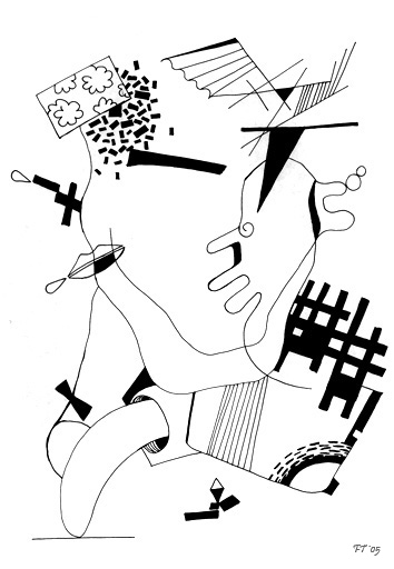 Рисунки абстракция и сюрреализм
