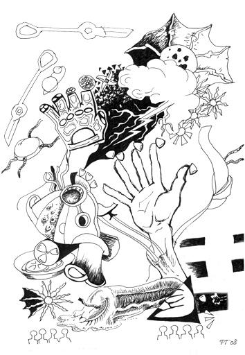 абстракция рисунки: