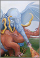 Painting Fairy Tales Of Mammoths